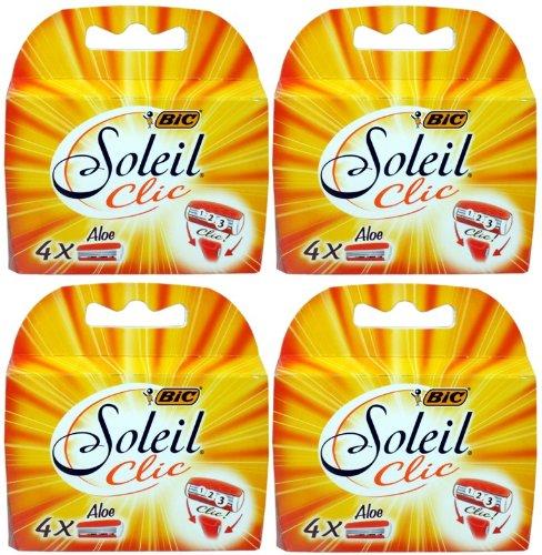 BiC Soleil Clic Lady Triple Lame de recharge pour cartouches (Total) pour BiC 16