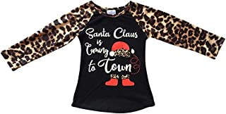 Little Girls Tshirt Thanksgiving Christmas Holiday Party Top T-Shirt Tee 2T-8