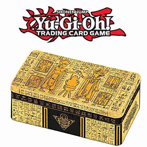 Yugioh 2020 Tablet of Lost Memories Mega Booster Packs Gold Tin