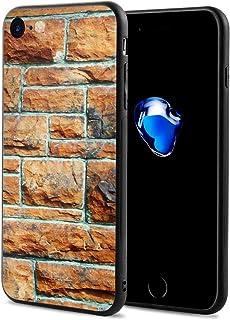 Epoch Ray 壁 赤 レンガ スマホケース IPhone8 ケース / IPhone7 ケース 携帯カバー アイフォン7/8カバー 滑り止め おしゃれ 軽量 薄型 人気