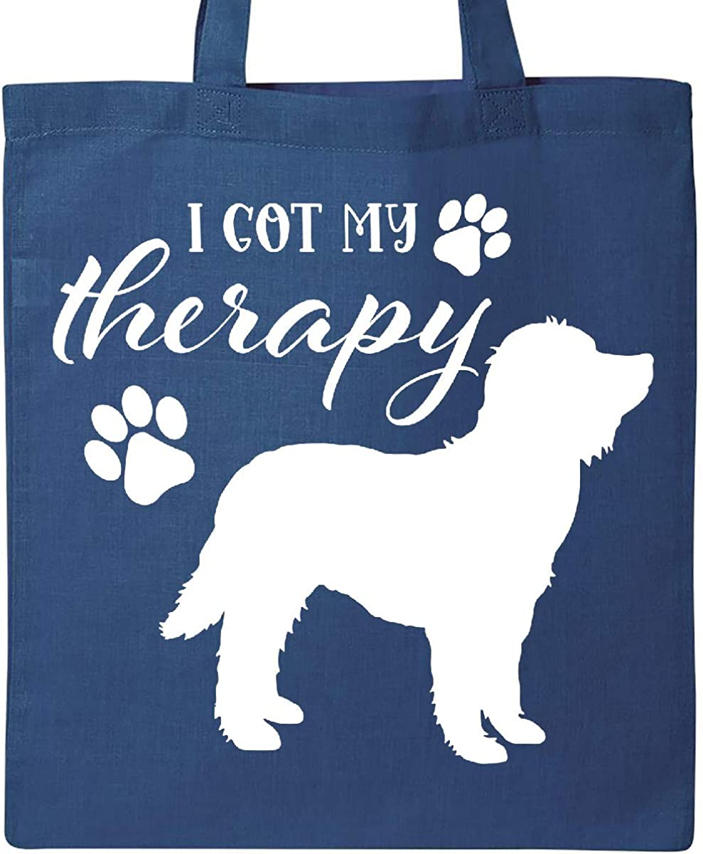 Goldendoodle Dog Tote Bag Inktastic I Got My Therapy