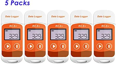 Registrador datos temperatura USB Generar informe PDF