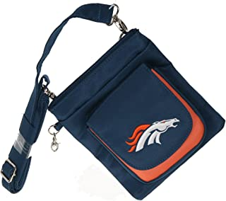 Charm14 NFL Traveler Crossbody Bag womens- Embroidered Logo