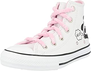 Converse, Chuck Taylor all Star Hi, White/Black/Pink Glaze