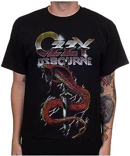 Ozzy Osbourne Men's Vintage Snake T-Shirt Black