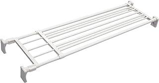 平安伸銅工業 つっぱり棚 超強力ワイドタイプ ホワイト 取付寸法118~190cm 耐荷重:50-20kg RA-12
