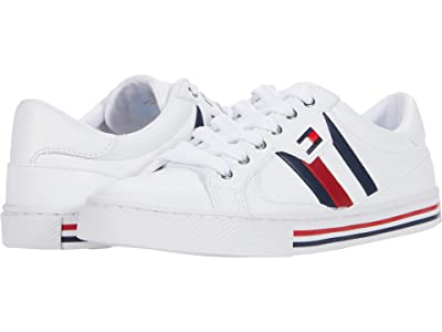 Tommy Hilfiger Lintz (White/Navy/Tropic Red) Women