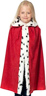 King/Queen Cloak for Kids | One Size 3-8 Years | 4 Colours.