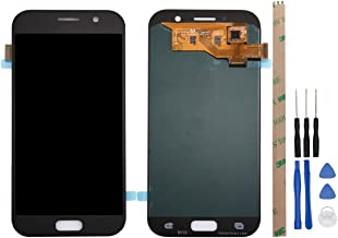 HYYT for Samsung Galaxy A5 A520 A520F 2017 LCD Digitizer Screen Replacement LCD Display and Touch Screen Assembly (Black)