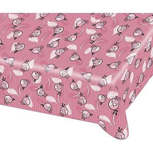 amscan 120x 180cm Angry Birds Kunststoff Tisch, Pink