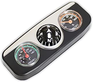 ToolUSA 3 in 1 Compass, Thermometer, and Hygrometer All in One Unit-Measues 4-1/2 X 1-3/4 X 1-1/4 Inches: PC990