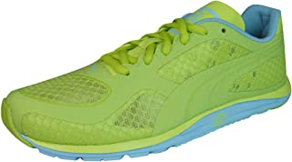 Puma Faas 100 R V1.5 Womens Running Trainers / Shoes - Yellow