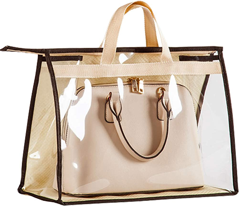 OLizee Baltimore Mall Stylish Handbags Closet Space-saving Fashion Storage Bag Organize