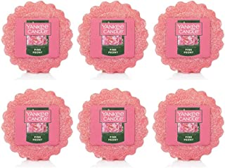 Yankee Candle Lot of 6 Pink Peony Tarts Wax Melts