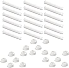 Intex Replacemet Joint Pin & Seal for 10'-12' Round Metal Frame Pools, (18 Pack)