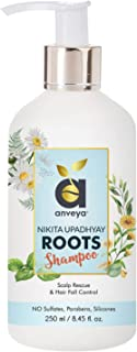 Anveya Roots Shampoo, 250ml, for Hair Fall Control & Scalp Rescue. Co-creator Nikita Upadhyay