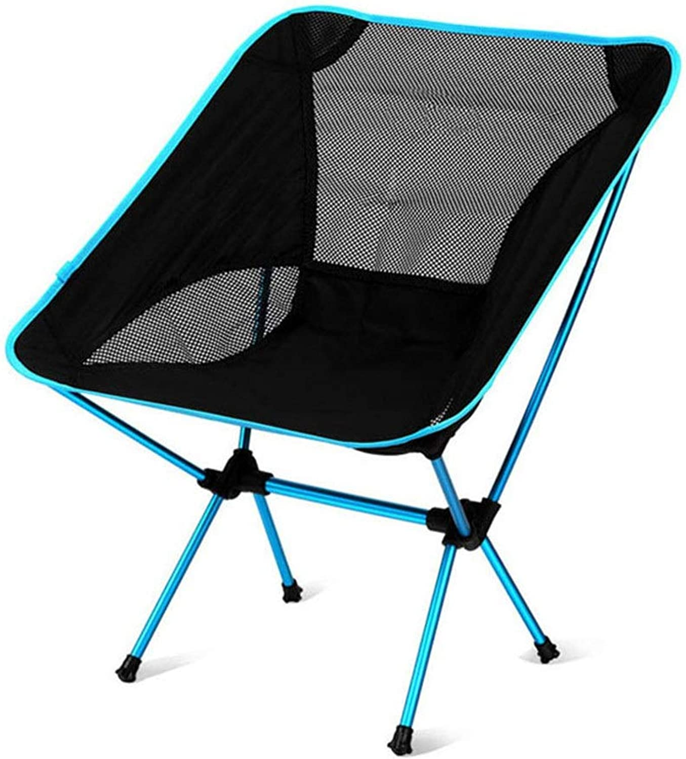 Portable Camping Chair, Ultralight Folding Chair with Carry Bag for Hiking, Beach, Fishing
