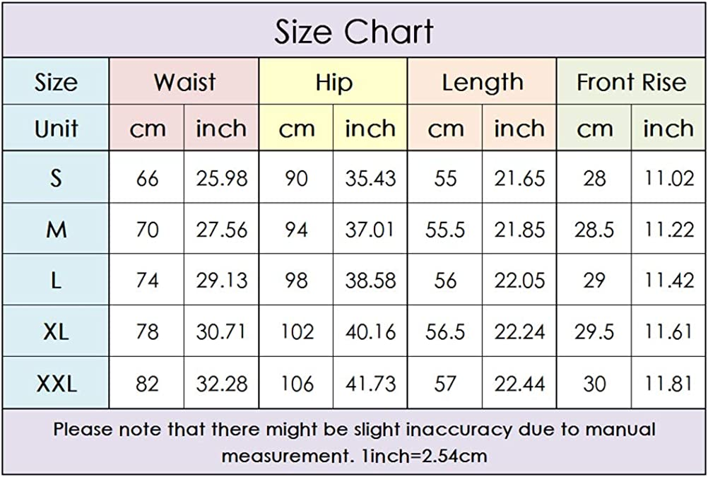lookwoild Women Sexy Denim Shorts High Waisted Ripped Hole Distressed Stretchy Short Jeans (Black, S)