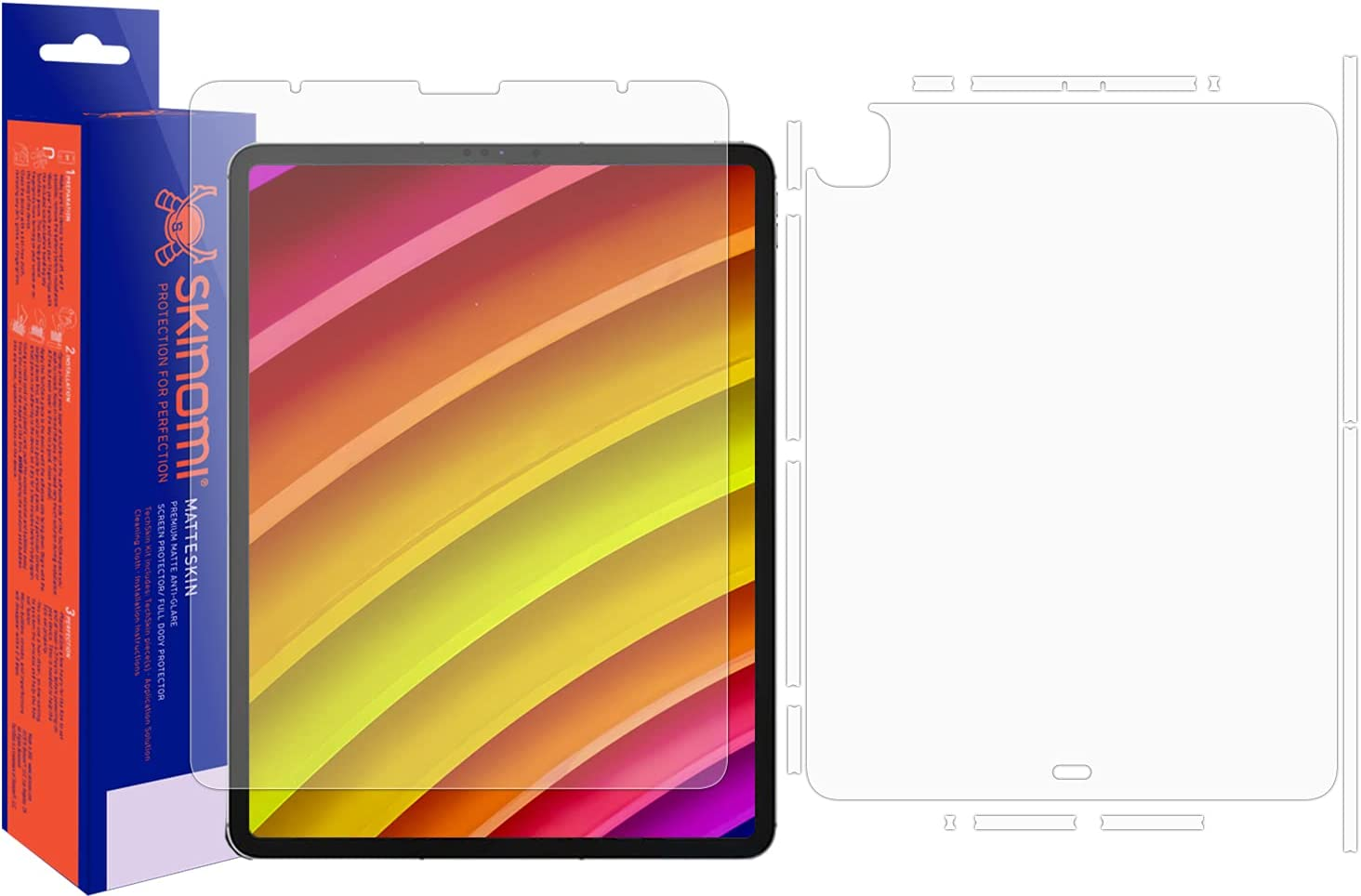 Gifts Skinomi Matte Full Body Protector Compatible Apple List price with iPad Pro