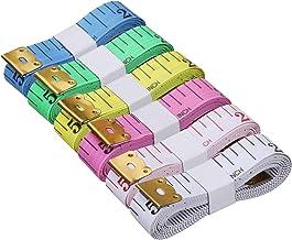 Akstore 6PCS Soft Tape Measures Double-Scale 60-Inch/150cm Soft Tape Measure Ruler Bulk..