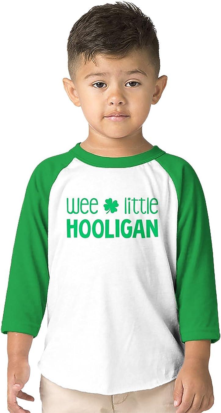 SpiritForged Apparel Wee Little Hooligan Toddler 3/4 Raglan Shirt