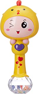 Little Angel Baby Toy Chicken Rattle with Music , Pack of 1