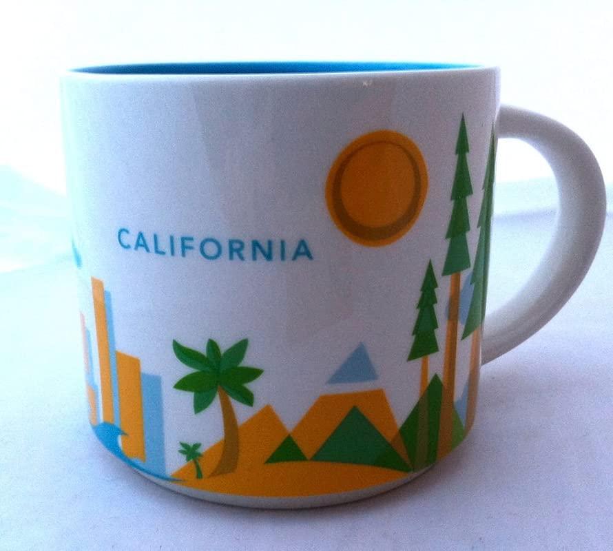 Starbucks California You Are Here Mug Series BONUS Souvenir Starbucks Card California