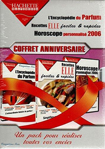 Coffret Femme : Encyclopédie du parfum, Recettes rapides, Horoscope 2006