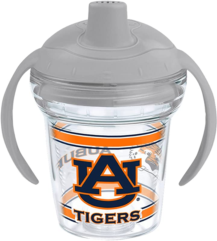 Tervis 1177824 Auburn Tigers Tumbler With Wrap And Moondust Gray Lid 6oz My First Tervis Sippy Cup Clear 01177824