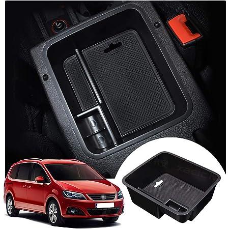 Mittelkonsole Aufbewahrungsbox Für Seat Alhambra Mittelarmlehne Handschuhfach Armlehne Organizer Tray Storage Box Innen Auto