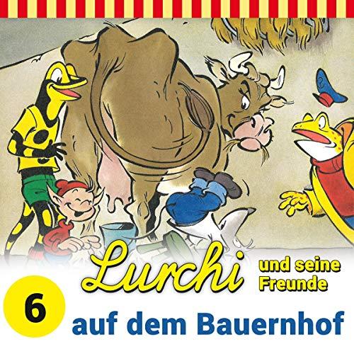 Lurchi und seine Freunde auf dem Bauernhof Titelbild