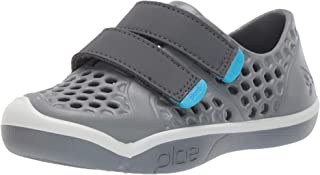 plae Unisex Mimo Water Shoe, Slate, 3 Regular US Little Kid