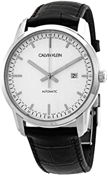 Calvin Klein Infinite Automatic Silver Dial Men's Watch