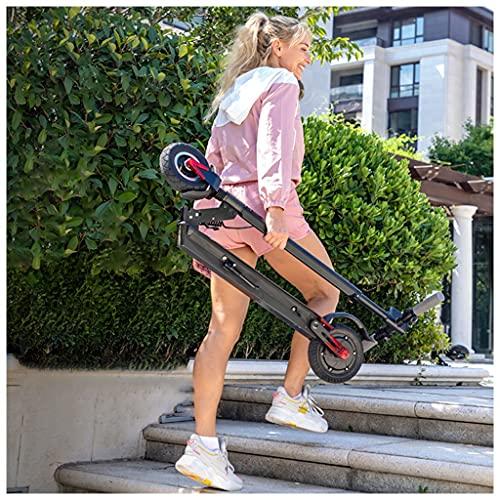 KHUY Patinete Electrico Plegable Adulto 350w con Pantalla Visualización, Patín Eléctrico Scooter,...