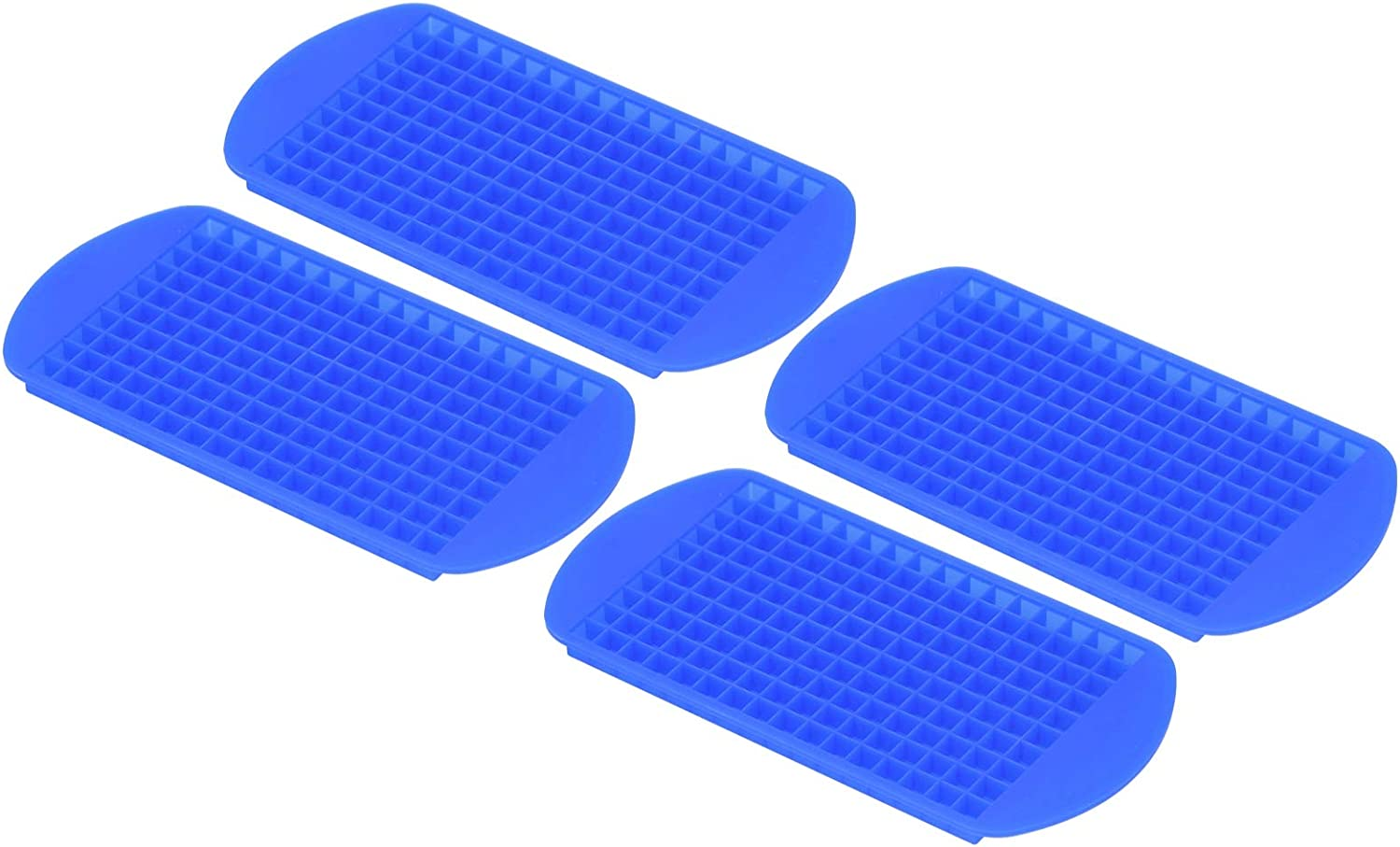 Silicone Ice Tray Cubes Now on sale Mould 4Pcs Grids 1x1cm Same day shipping Square Easy D 160