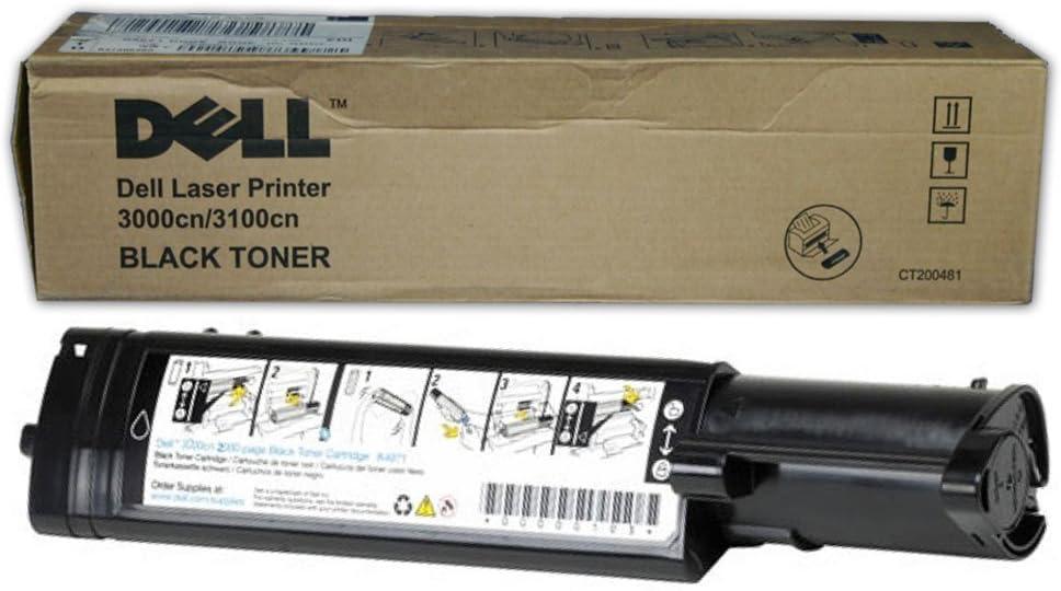 Original Dell 310-6874 Black Toner Cartridge for 3000cn/ 3100cn Color Laser Printer
