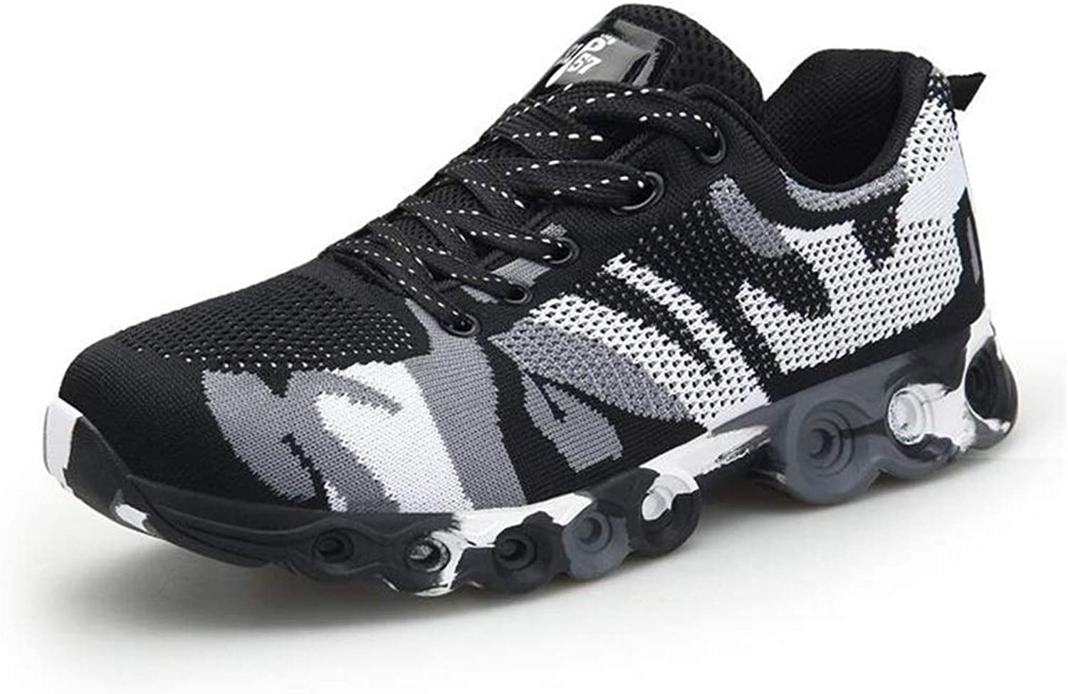 Mens's shoes Breathable Camouflage shoes Knit Training shoes Running shoes Outdoor Sports shoes men Sneakers