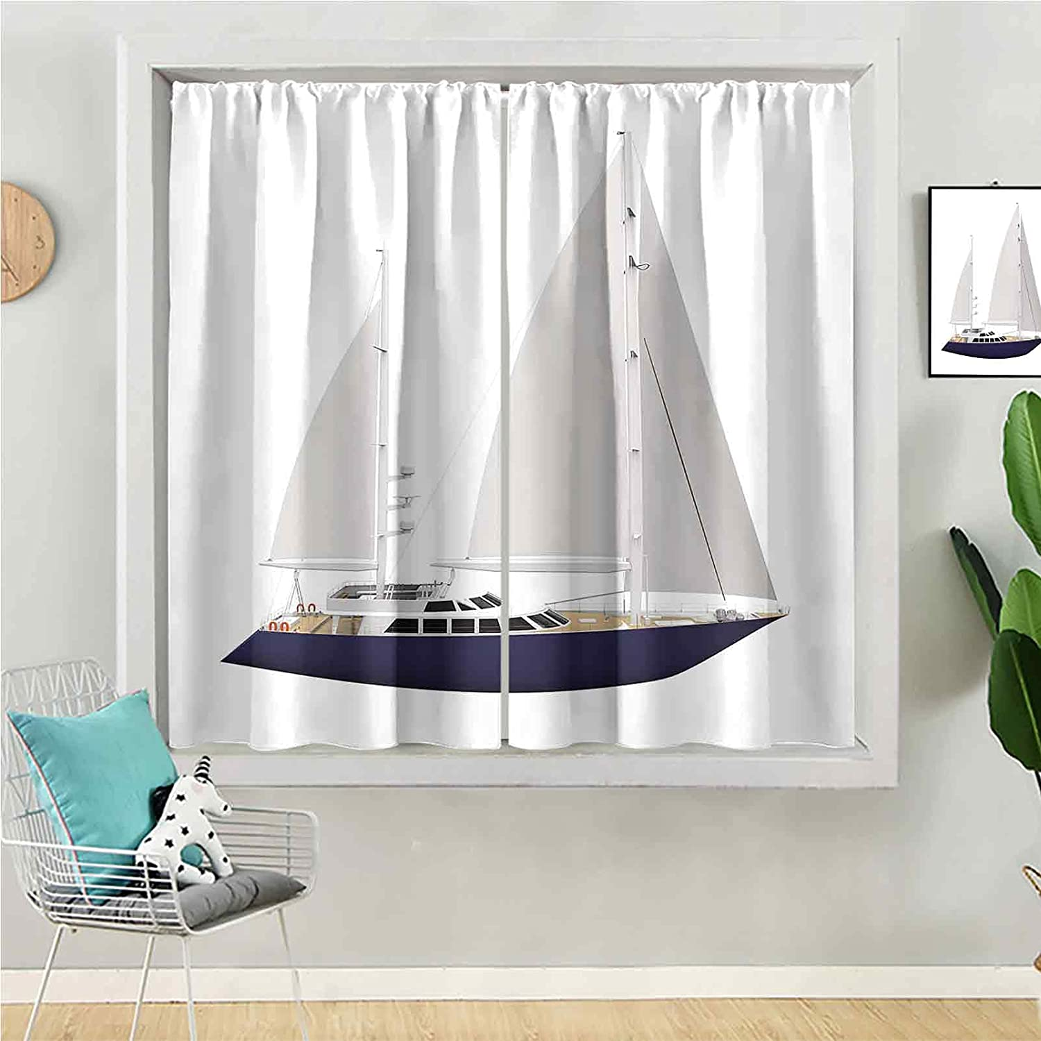 Max 59% OFF Blackout Curtain Discount is also underway 72 inches Long Window Kids Panel Be for