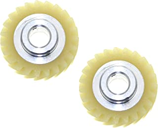 W10112253 Worm Gear Replacement for Whirlpool Kitchenaid Mixer Part Replaces 4162897 AP4295669-2 Pack