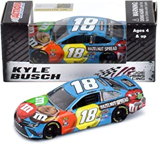 Lionel Racing Kyle Busch 2019 M&M's Hazelnut Spread NASCAR Diecast Car 1:64 Scale