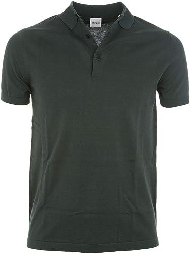 Aspesi Homme M040337101374 Vert Coton Polo