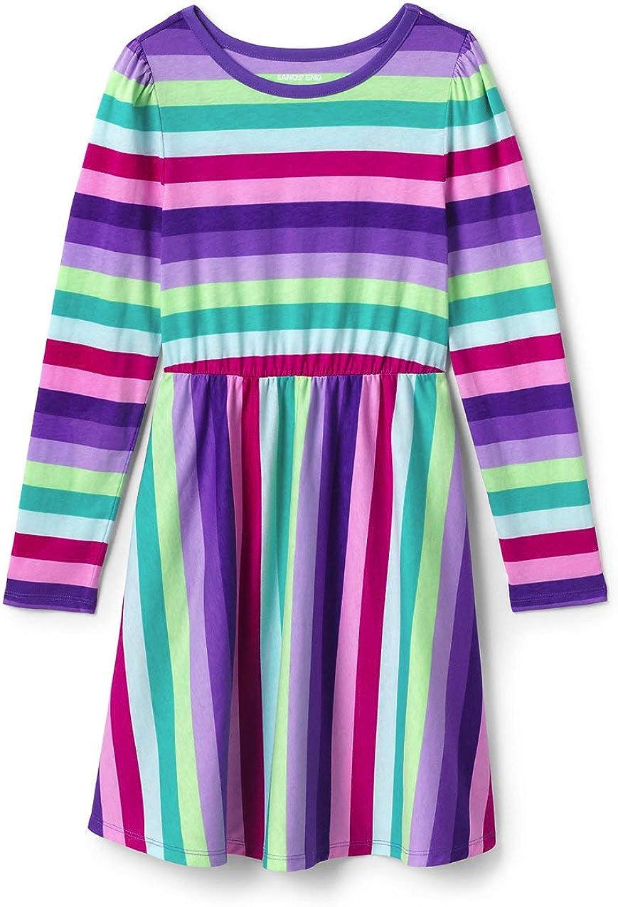 Spring new work Lands' End Girls Ranking TOP8 Cinched Dress Waist Pattern