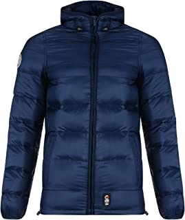 Crosshatch Men's Padded Hooded Rabble Puffer Jacket