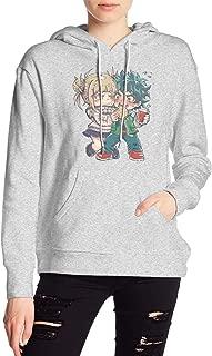 My Hero Academia Boku No Hero Himiko Toga Deku Hoodies Sweatshirt Adult Pullovers for Women