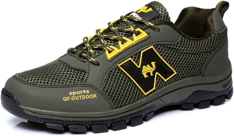 Qifeng herr utomhus Ventilator gående Hiking Hiking Hiking maska skor bspringaaa  billig grossist