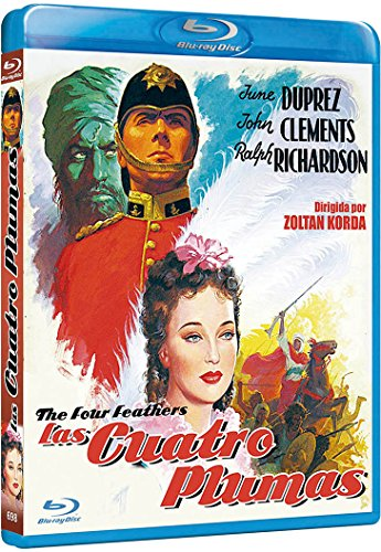 Las cuatro plumas [Blu-ray]
