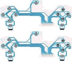 Homyl Cabo Fita de Teclado de Membrana Condutiva de 2 Peças para Controlador PS4
