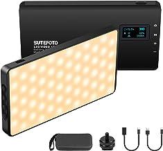 LED Videoleuchte Mini Video licht Aluminium USB Wiederaufladbarem Kamera licht Dimmbar..