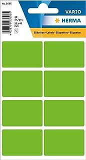Herma Vario Etiket 25x40mm Yeşil Renk