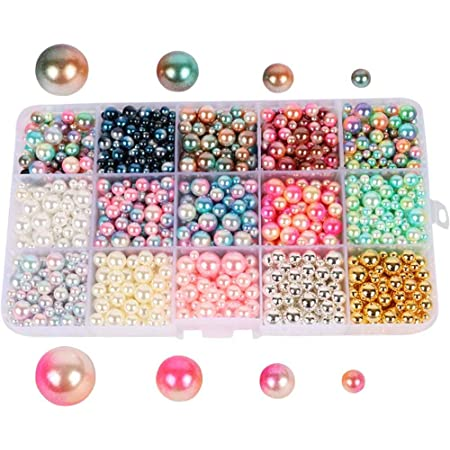 4//6//8//10mm Imitation Pearls Acrylic Beads Round Pearl Spacer Loose Beads